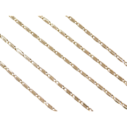 "Vintage 14k Gold Chain ~ 18"" ~ 6.3 Grams"
