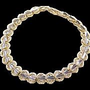 """Vintage 14k Gold Two-Tone Bracelet ~ 8"""""""