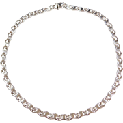 "Vintage 14k White Gold Necklace ~ 17"" ~ 23.9  Grams"