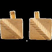 Vintage 18k Gold Cufflinks