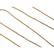 """Vintage 14k Gold Rounded Chain ~ 18"""" ~ 2.4 Grams"""
