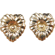 Vintage 14k Gold Earring Jackets