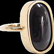 Vintage 14k Gold Corundum Ring