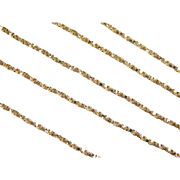 """Vintage 14k Gold Twisted Box Chain ~ 18"""" ~ 3.1 Grams"""