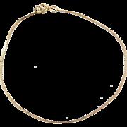 """Vintage 14k Gold Bracelet ~ 6 3/4"""""""