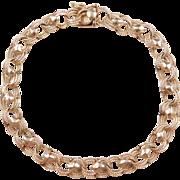 """Vintage 14k Gold Bracelet ~ 7 1/4"""""""