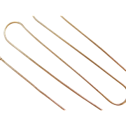 "Vintage 14k Gold Snake Chain ~ 16"" ~ 3.4 Grams"