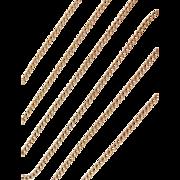 "Vintage 14k Gold Long Curb Link Chain ~ 23"" ~ 4.7 Grams"