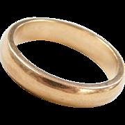 Vintage 18k Gold Band Ring