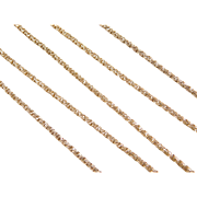 "Vintage 14k Gold Chain  ~ 20"" ~ 5.6 Grams"