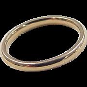 Vintage 14k Gold Band Ring