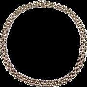 """Vintage 14k Gold Necklace ~ 16 1/2"""" ~ 26.4 Grams"""