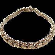 """Vintage 10k Gold Bracelet ~ 7 3/8"""""""