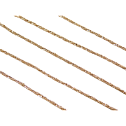 """Vintage 14k Gold Twisted Wheat Chain ~ 18"""" ~ 2.5 Grams"""