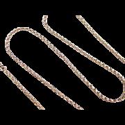 """Vintage 14k Gold Link Chain ~ 21"""" ~ 12.2 Grams"""