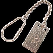 Vintage 14k Gold Rolls Royce Key Chain