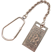 Vintage 14k Gold Rolls Royce Key Chain