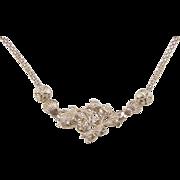 "Vintage 14k Gold Nautical Necklace ~ 18"""