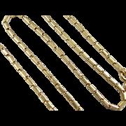 "VIntage 22k Baht Gold Chain 18"" ~ 30.2 Grams"