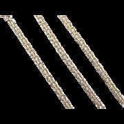 """Vintage 14k Gold Anklet ~ 8 5/8"""""""