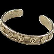 Vintage 14k Gold Toe Ring
