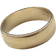 Vintage 14k Gold Band Ring