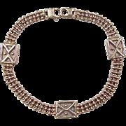 """Vintage 14k Gold Bracelet ~ 7 3/8"""""""