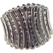Vintage 10k White Gold Ring