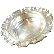 "Estate Sterling Silver 8"" Serving Bowl - Birks"