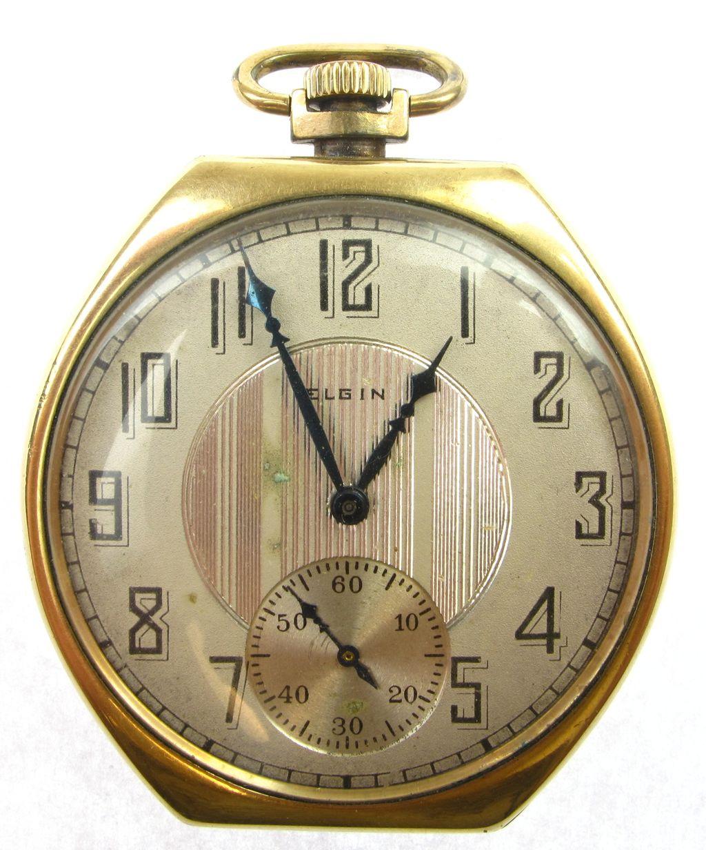 vintage elgin gold filled pocket from arnoldjewelers