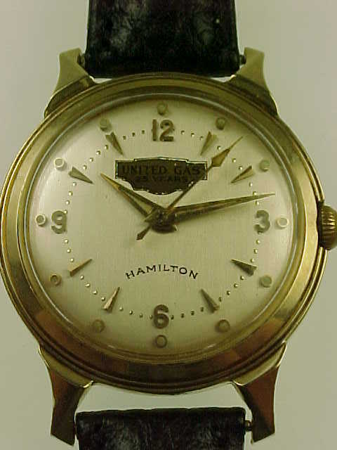 Vintage Hamilton 736 14k Gold Wrist Watch