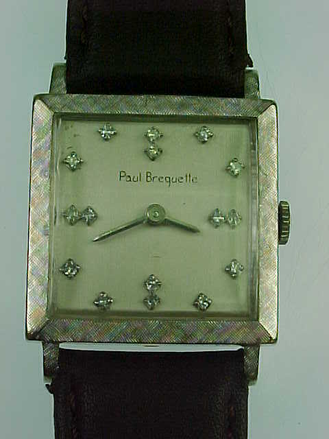 Item ID: JS Paul Breguette 14k In Shop Backroom