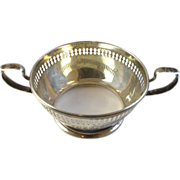 Estate Sterling Silver Soup Bowl Holder - Reed & Barton