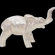 Sterling Silver ELEPHANT Figure ~ 170.3 Grams