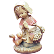 "ANRI / Ferrandiz ""Thanksgiving Prayer"" 6 Inch Figure"