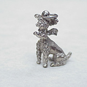 Vintage Charm ~ French Poodle, Sterling Silver 1950's