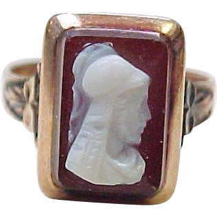 Item ID: KA Roman Soldier Cameo In Shop Backroom