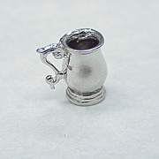 Vintage Charm ~ Tankard, Drinking Cup Sterling Silver