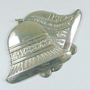 1979 Gorham Bells Of Peace Sterling Silver Ornament Medallion