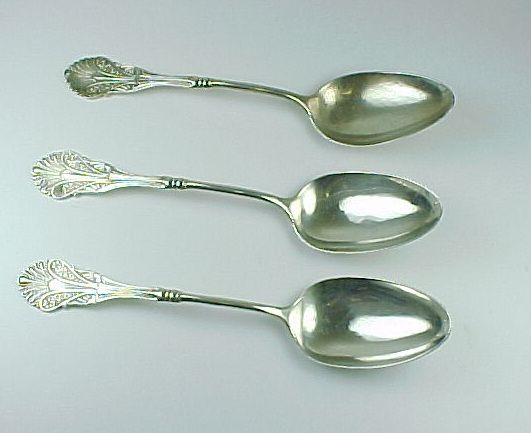 Item ID: KD ShieblerCorinthian Spoons In Shop Backroom