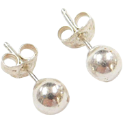 Sterling Silver 5mm Ball Stud Earrings