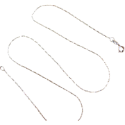 """Sterling Silver Chain ~ 16"""""""
