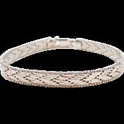 "Sterling Silver Bracelet ~ 7 1/4"""