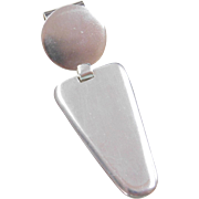 Sterling Silver Big Pendant