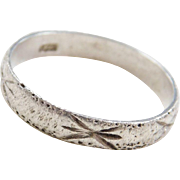 Sterling Silver Little / Pinky Finger Ring