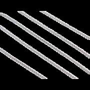 "Sterling Silver Popcorn Chain ~ 18"" ~ 2.6 Grams"