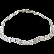 "Sterling Silver Bracelet ~ 7 1/2"""