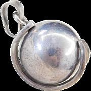 Sterling Silver Jingle Ball Pendant