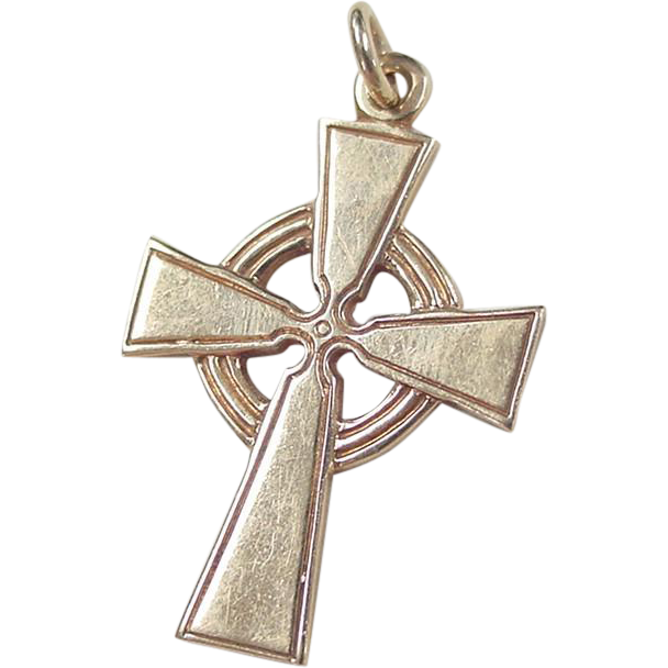 Vintage Celtic Cross 77