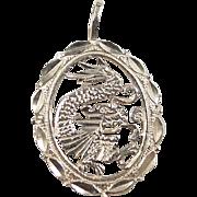 Vintage 14k Gold Chinese Dragon Charm
